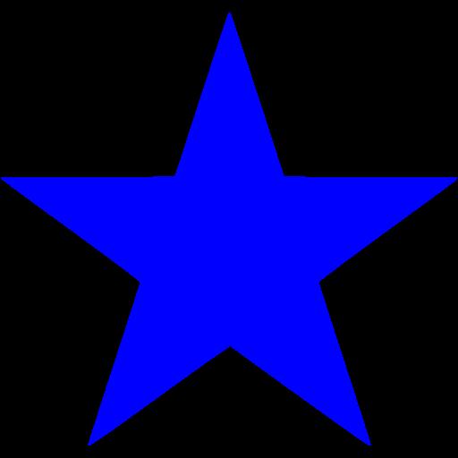 Small Blue Star